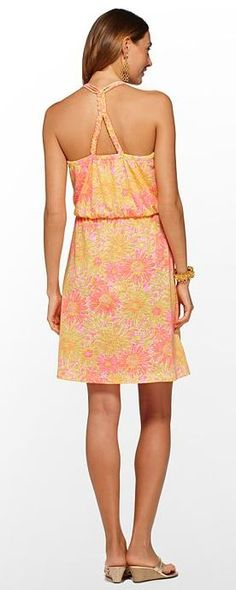 Lilly Pulitzer Summer '13- Lockwood Dress in Sunkissed