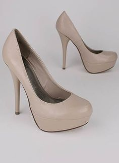 ah nude heels, my life would be complete.
