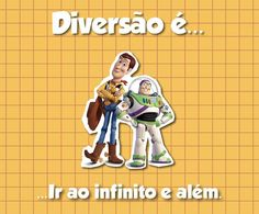 Ao infinito e além ... Festa Toy Story, Festa Party, Movies, Movie Posters, Fiestas, Messages, Infinite, Film Poster, Films