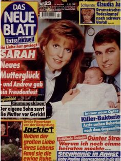 "Sarah Ferguson ""Das Neue Blatt"" (Nr.23 vom 31.5.1994)"