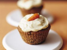 Karotten-Cupcake
