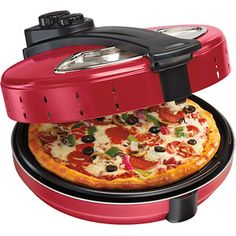Shop a great selection of Hamilton Beach 12 Inch Cooker, Red Pizza Maker. Find new offer and Similar products for Hamilton Beach 12 Inch Cooker, Red Pizza Maker. Cool Kitchen Gadgets, Kitchen Items, Cool Kitchens, Kitchen Oven, Kitchen Small, Kitchen Tools, Kitchen Dining, Red Kitchen, Top Gadgets