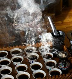 Buna (Ethiopian Coffee Ceremony) - Picture of Queen of Sheba ...