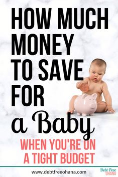 Wondering how much money to save for a baby? Check out this article and find out. We'll go over how much a baby costs on average the cost of a baby per month and other important information you'll need to prepare financially for your baby. Baby Cost, Baby On A Budget, Budgeting Finances, Budgeting Tips, Ohana, Amigurumi For Beginners, Planning Budget, Financial Tips, Financial Planning