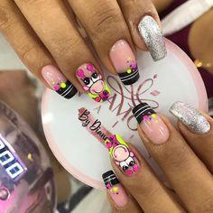 Glamour Nails, Nail Set, Hair Beauty, Instagram, Finger Nails, Toe Nail Art, Short Nail Manicure, Shiny Nails