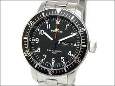 Fortis 美品[フォルティス]コスモノートデイデイト腕時計 01004 7235 Watch Antique ¥88800yen 〆05月20日