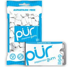 The Eight Best Chewing Gums (Not Packed with Chemicals)  http://www.eatclean.com/products/clean-gum-brands