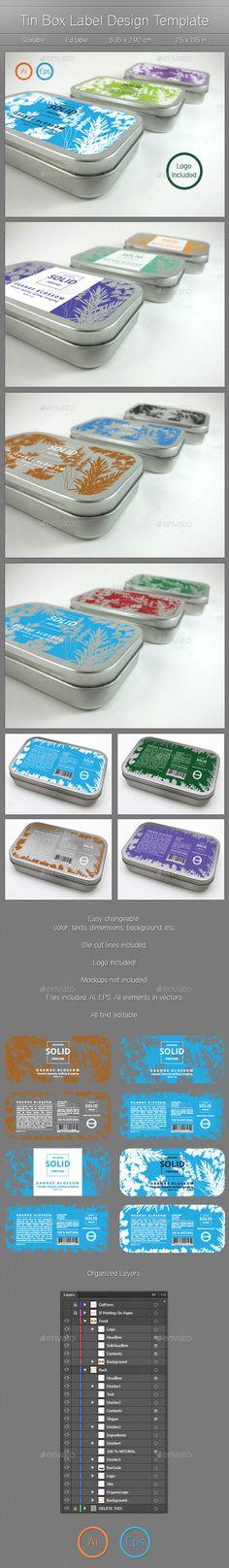 Label Design - Packaging Print Templates