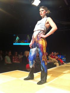 Sophie Allen at The Designers Show at Norwich Fashion Week 2014