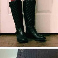 Riding boots Black riding boots in excellent condition Vince Camuto Other