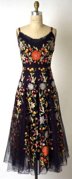 robe vintage des années 1940 »
