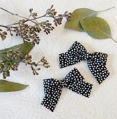 Black Skinny Stripe Bow toddler headbands stripe headband hair clips pigtail set little girl bows newborn headbands baby headbands