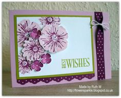 Greenhouse Garden Best Wishes Card by FubsyRuth - Cards and Paper Crafts at Splitcoaststampers