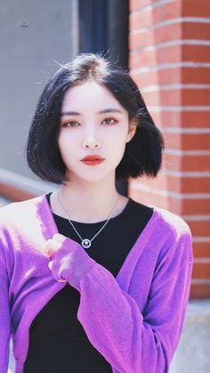 Women In China, K Pop, Handsome Korean Actors, Cool Anime Girl, China Girl, Asian Hair, Aesthetic Hair, Power Girl, Girl Crushes