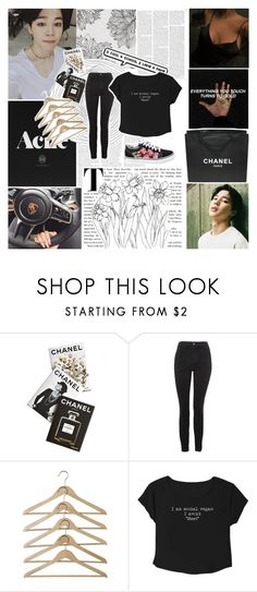 """Mama don't stress your mind.."" by wintaeftw ❤ liked on Polyvore featuring Mason's, Chanel, Assouline Publishing, Topshop and Vans"