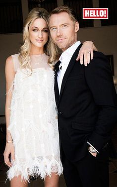 Ronan Keating engaged to Storm Uechtritz - Celebrity Fashion Trends Celebrity Wedding Photos, Celebrity Outfits, Celebrity Weddings, Celebrity Style, Storm Keating, Ronan Keating, Irish Fashion, Feather Dress, Getting Married