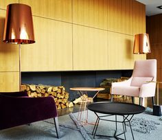 LONG ISLAND Armchairs designed by N. Nasrallah & C. Horner #modern #ligneroset http://www.lignerosetsf.com/