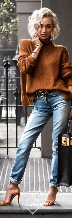 Sweater Kinda Weather // Fashion Look by Micah Gianneli https://bellanblue.com http://bellanblue.com