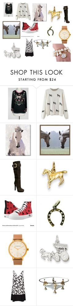 """Horse"" by danielle-bff-renee on Polyvore featuring Art Classics LTD, West Elm, Gucci, The Horse and STELLA McCARTNEY"