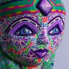 Lisa Garner Art - My Avatar Gaia Goddess, Avatar, Polymer Clay, Sculptures, Lisa, Animals, Fictional Characters, Art, Art Background
