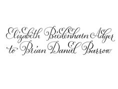 CUSTOM couple's names in digitized calligraphy by plurabelle, $200.00