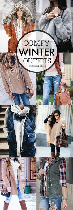 Women's Fashion - Winter Outfits - Women's Fashion and comfy Winter Outfits that you are going to love.