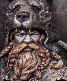 Berserk Dwarf Orange Bear