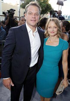 Matt Damon and Jodie