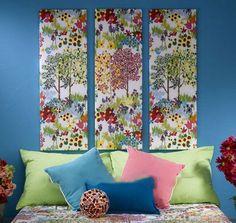 Wonderful Fabric Wall Art