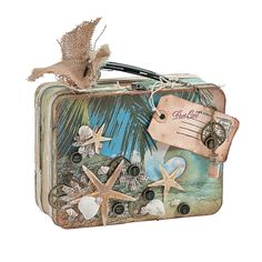 Beach Memento Box - OrientalTrading.com