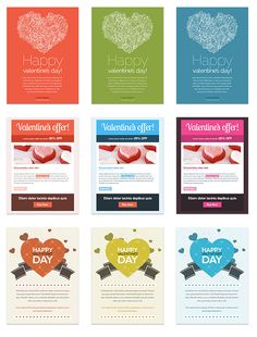 Valentine's Day newsletter templates are here!