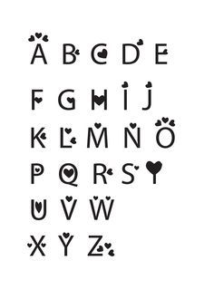 cute letters | Fun and Cute fonts | Lettering | Pinterest | Fonts ...
