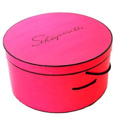 1950 Shocking Pink Schiaparelli Hat Box