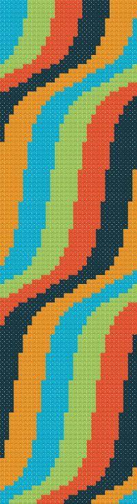 Bookmark 5. Free cross stitch pattern