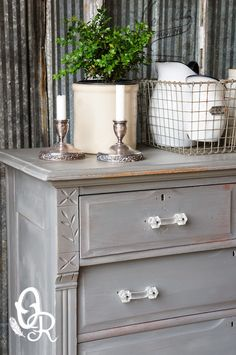 MMS Milk Paint Trophy dresser by Oliver & Rust