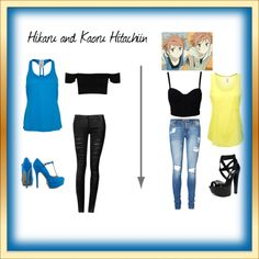 """Ouran High School Host Club Casual cosplay"" by briea14 on Polyvore"