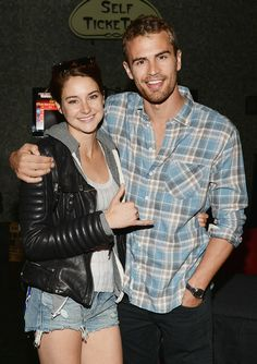 Celebrity Parties: March 14 to March 20, 2014 - Shailene Woodley and Theo James from #InStyle