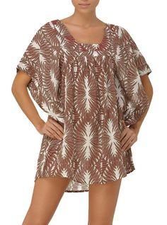 Persian Wood Squared Neck top by OndadeMar Swimwear