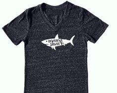 Shark shirt | Etsy