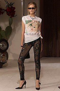 Dolce & Gabbana Spring 2001 Ready-to-Wear Fashion Show - Kristina Tsirekidze