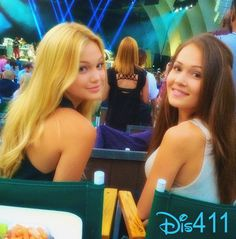 Photos: Olivia Holt With Kelli Berglund Watching Bruno Mars In Concert May 31, 2014