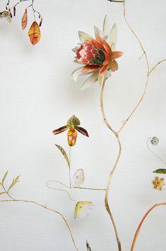Flower Constructions by Anne Ten Donkelaar