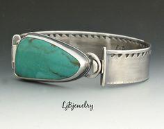 Turquoise Bracelet,  by LjBjewelry on Etsy