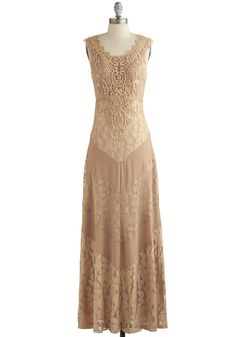 ModCloth Vintage Inspired Long Sleeveless Maxi Paragon of Poise Dress Mob Dresses, Dresses For Sale, Fashion Dresses, Bridesmaid Dresses, Bridesmaids, Dress Outfits, Retro Vintage Dresses, Vintage Inspired Dresses, Vintage Outfits