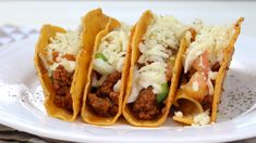 Mini Tacos, Ethnic Recipes, T5, Food, Drink, Videos, Home, Steak Tacos, Homemade Recipe