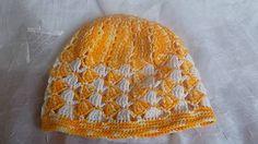 MelinetDecorCrochet / Žltá dievčenská čiapka