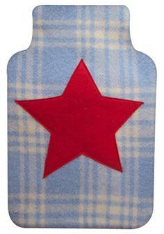 wool hottie cover - star