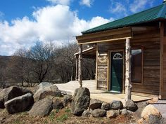 Scenic Ridge #Cabin in Meers, #Oklahoma is the perfect place to get away from it all. You'll feel right at home in this rustic cabin with modern amenities that is only a few minutes away from the Wichita #Mountains Wildlife Refuge and the charming town of Medicine Park.