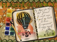 Hot Off The Press: Art Journal Caravan Inspiration and Vintage Flashcards: New Year | Studio Tangie