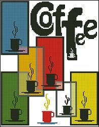 free cross stitch patterns in pdf format with coffee